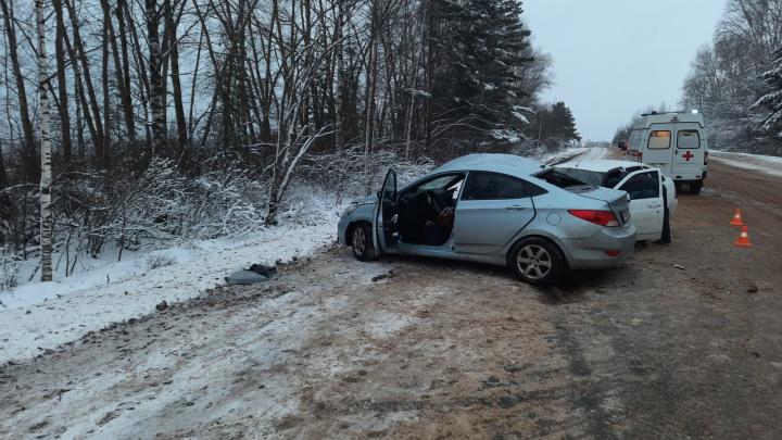 Занесло на скользкой дороге. В Нижегородской области в аварии погиб человек