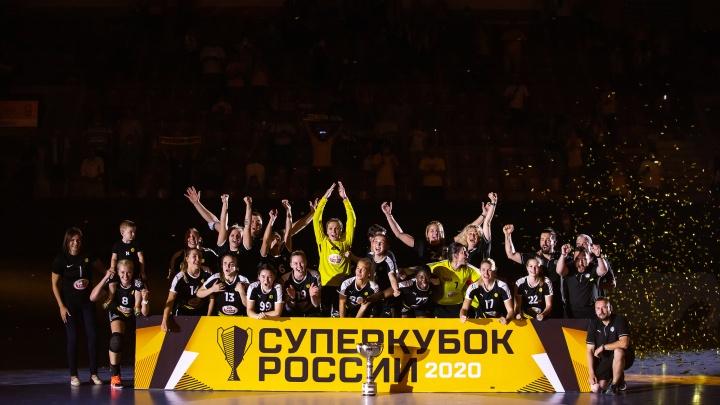 ГК «Ростов-Дон» выиграл Суперкубок России