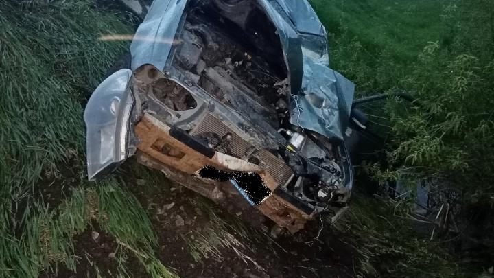 В Зауралье пьяный водитель насмерть сбил пешехода и скрылся с места аварии