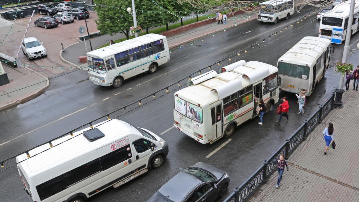 На дорогах Уфы увеличилось количество автобусов