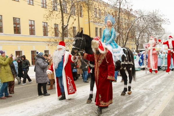 В прошлом году данный фестиваль был очень эффектным, как и Снегурочка