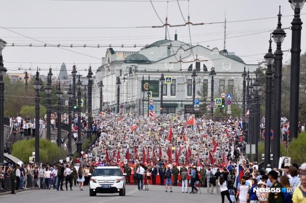 В этом году «Бессмертный полк» пройдёт по Омску как-то иначе. Как именно это будет, пока не знает никто