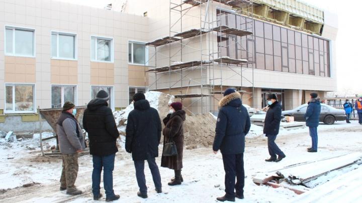 В Таре завершился первый этап реконструкции КДЦ «Север»