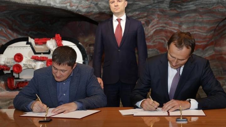 Дмитрий Махонин подписал дорожную карту по взаимодействию «Уралкалия» с прикамскими предприятиями