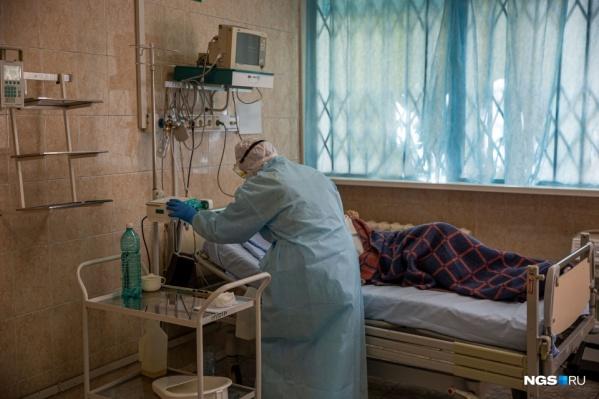 На 12 заболевших в Тюменской области приходится один врач