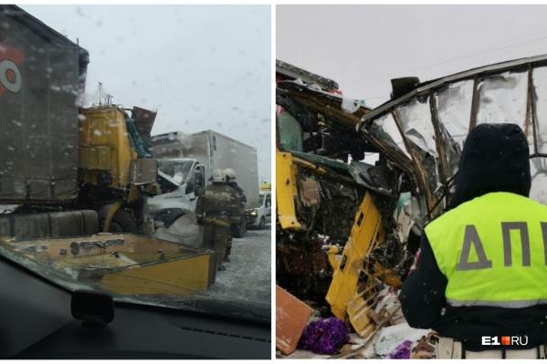 В аварии погиб один человек, двое пострадали