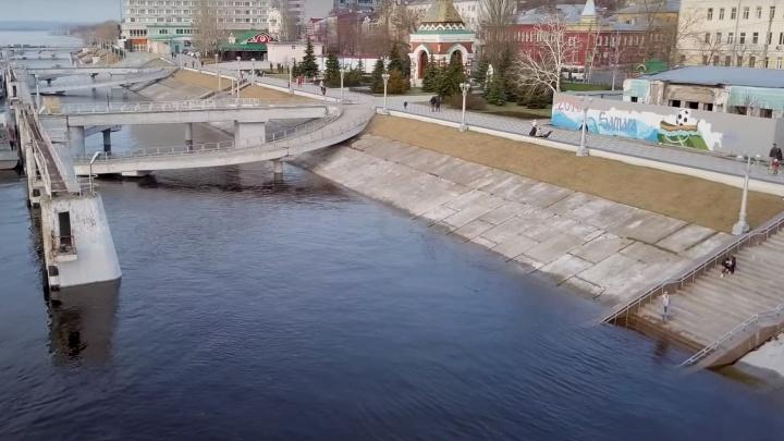 Всё выше и выше: в Самаре подтопило речной вокзал