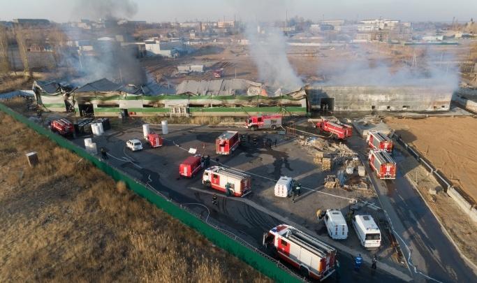74 млн убытков от одной искры: в Волгограде нашли виновных в пожаре на складе туалетной бумаги