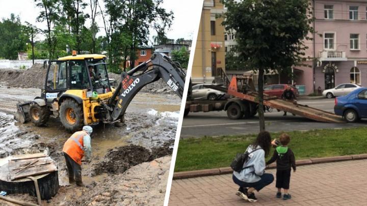 Облава на автохамов и проблемы с ремонтом Тутаевского шоссе: что случилось в Ярославле за сутки