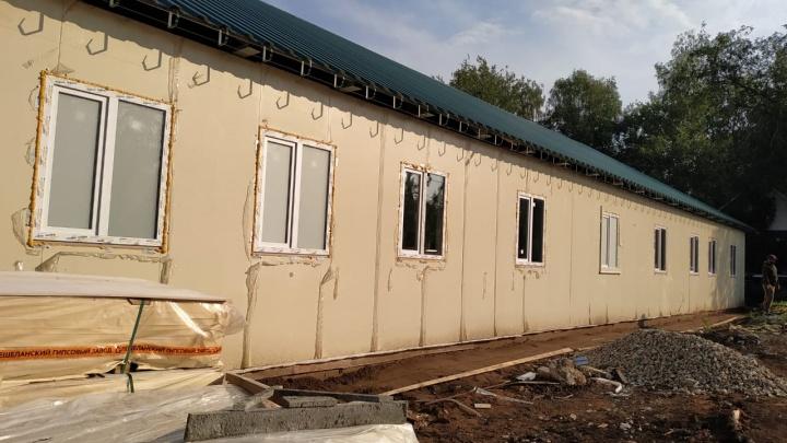 В Самарской психбольнице начали строить новый корпус для больных туберкулезом