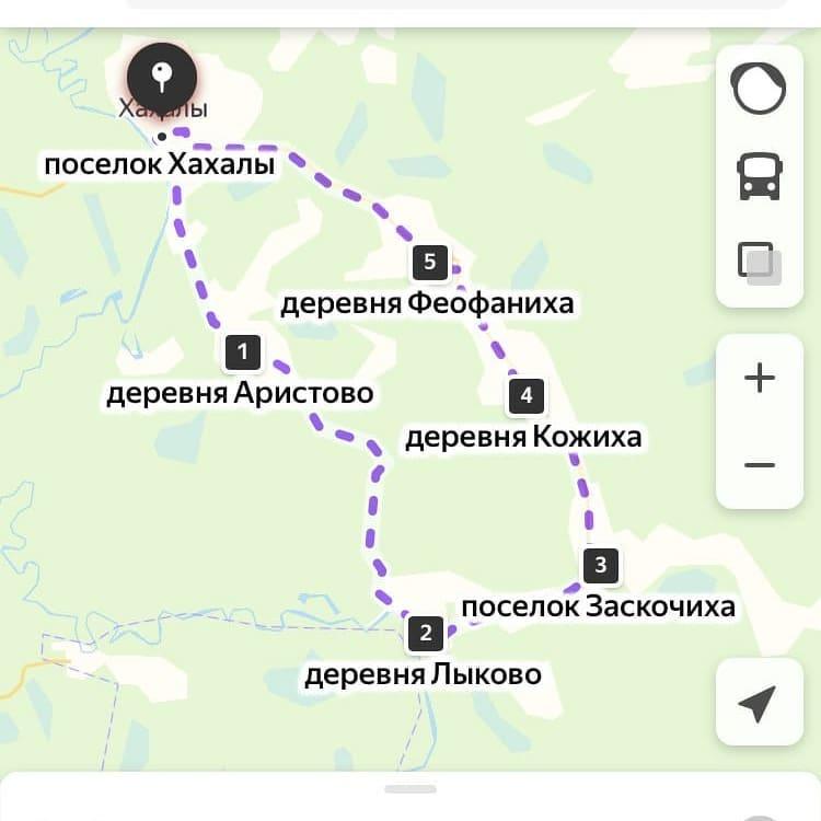 Наш маршрут