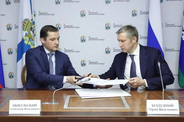 Александр Цыбульский и Юрий Бездудный