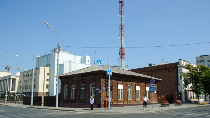 В Тюмени собираются продать памятник архитектуры напротив Спасской церкви