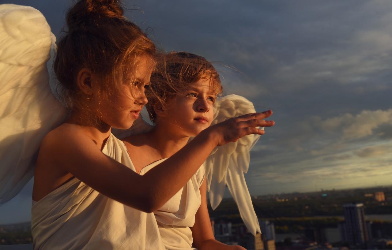 Дети не испугались сложных погодных условий