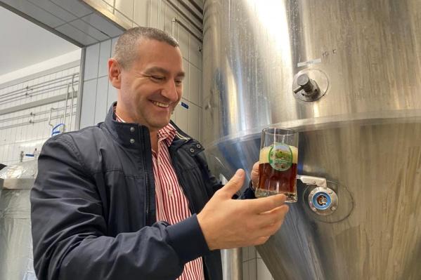 Александр Ильтяков вместе с сыном планируют делать хмельное для тех, кто любит «вкусно попить пива»