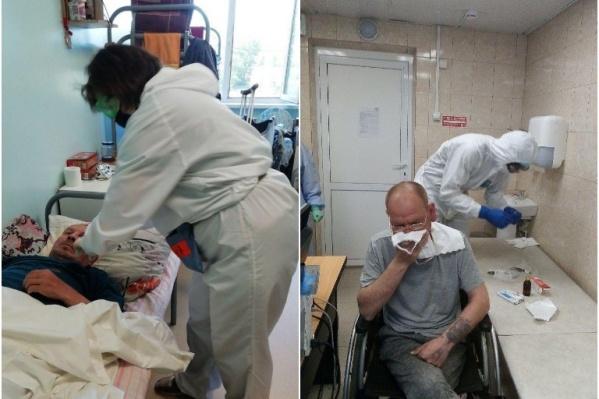 Заболевших доставили в моногоспитали