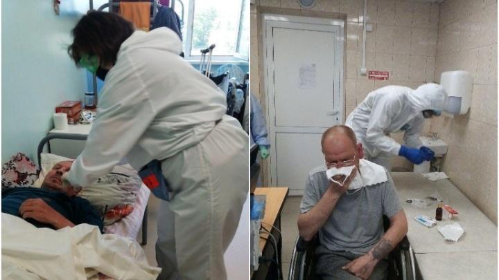 В центре «Милосердие» 16 бездомных заразились коронавирусом, двое в крайне тяжелом состоянии