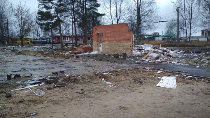 В Ярославле снесли торговый комплекс «Ярославич»: что будет на этом месте