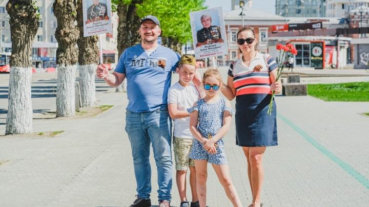Без парада, но с душой. Как пермяки праздновали День Победы в 2020 году — фоторепортаж с улиц нашего города