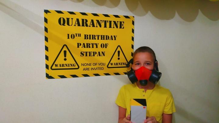 Праздник без гостей: как красноярским детям устраивают «изолированные» дни рождения