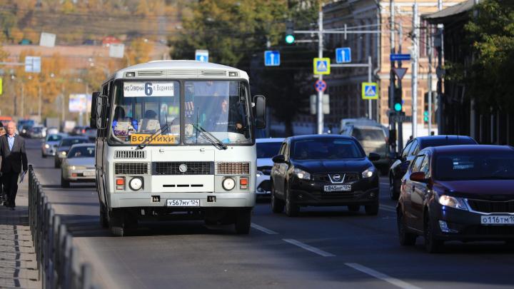 В Центральном и Советском районах на 2 недели меняют схему движения автобусов