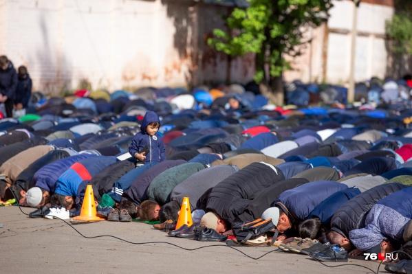 Праздник жертвоприношения является кульминацией хаджа в Мекку