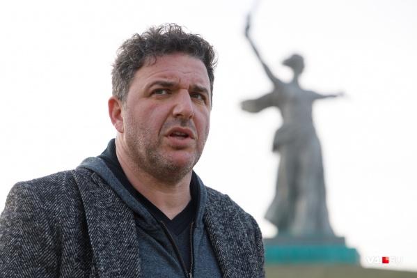 Максим Виторган хочет привезти на Мамаев курган своих детей