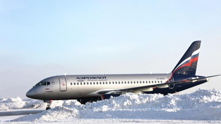 Анонимы сообщили о минировании самолета Москва — Тюмень