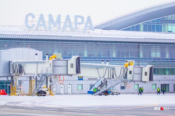 Сейчас аэропорт работает по зимнему расписанию