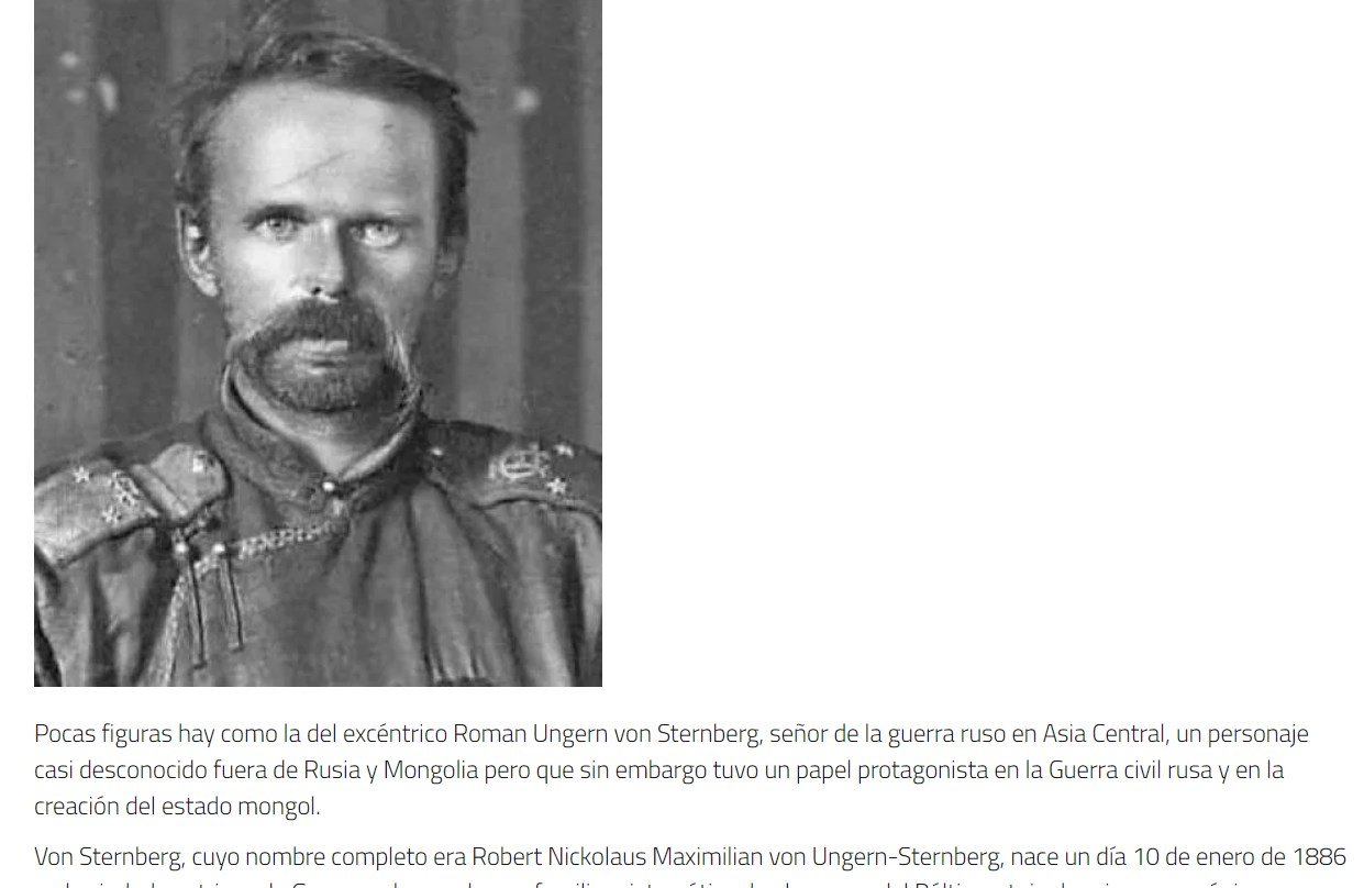 История Романа Унгерна, умершего в Новосибирске, привлекла сразу несколько изданий