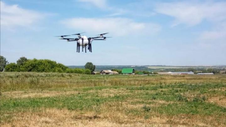 С сорняками в Самарской области будут бороться дроны