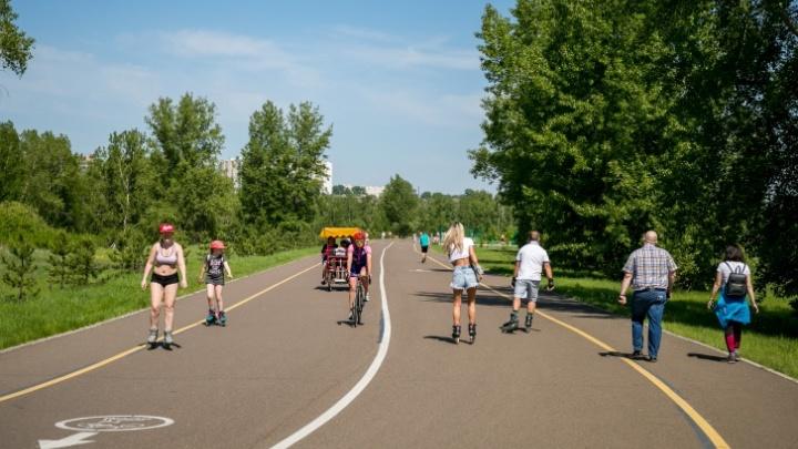 Какой будет погода в июле в Красноярске: жару сменят проливные дожди