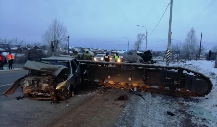 Водителю МАЗа, с которого упал 16-тонный кран, вынесли приговор