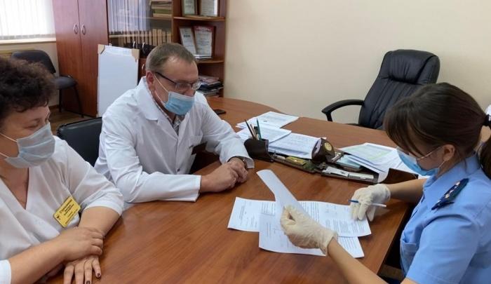 Кетовскую ЦРБ проверяет прокуратура после жалобы медиков на невыплату премии за работу с COVID-19