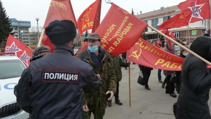 За митинг о госперевороте тюменца оштрафовали на 10 тысяч