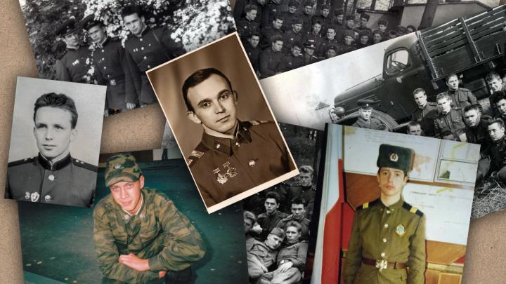 Листая дембельский альбом: рассматриваем ностальгические фото тюменцев со службы в армии