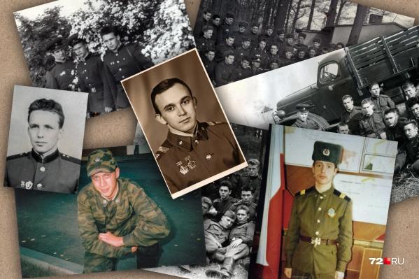 Показываем вам солдат из разных десятилетий — с 60-х годов прошлого века до наших дней