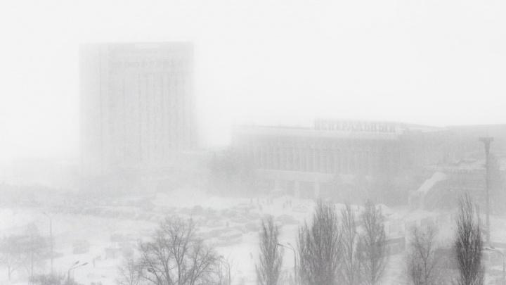В Самарской области объявили штормовое предупреждение