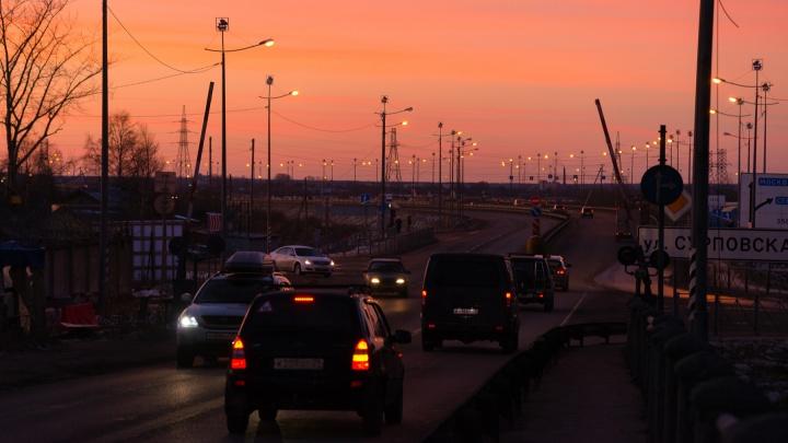 В новогоднюю ночь Северодвинский мост будет открыт для проезда