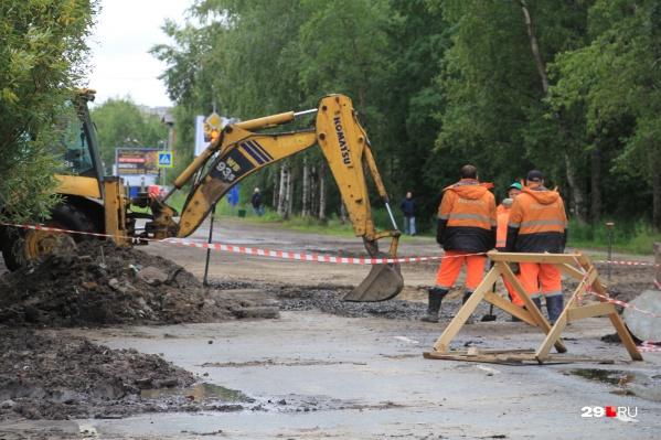 Деньги пойдут на ремонт дорог Карпогоры — Сосновка в Пинежском районе и Двинской — Белореченский в Верхнетоемском