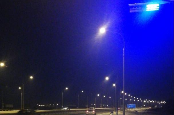 Водители в недоумении: на трассе под Красноярском установили первую «шериф-балку»