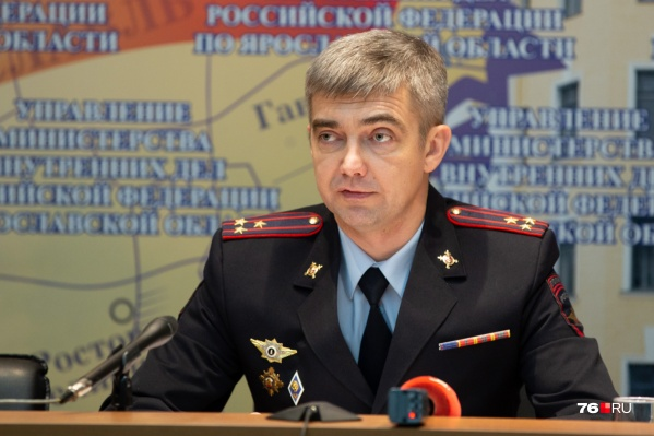 Антон Царёв с 90-х годов работает в ГИБДД