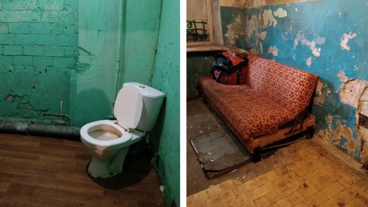 Общежитие после квартиры: что предлагают в Архангельске жильцам дома, сошедшего со свай