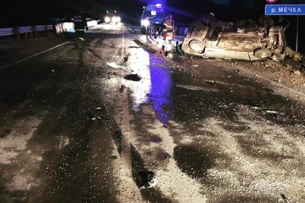Авария произошла в 06:30