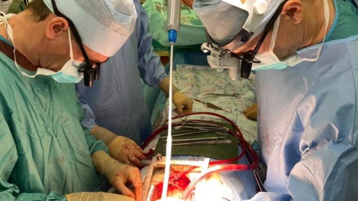В Красноярске заморозили пациента, чтобы провести уникальную операцию на сердце