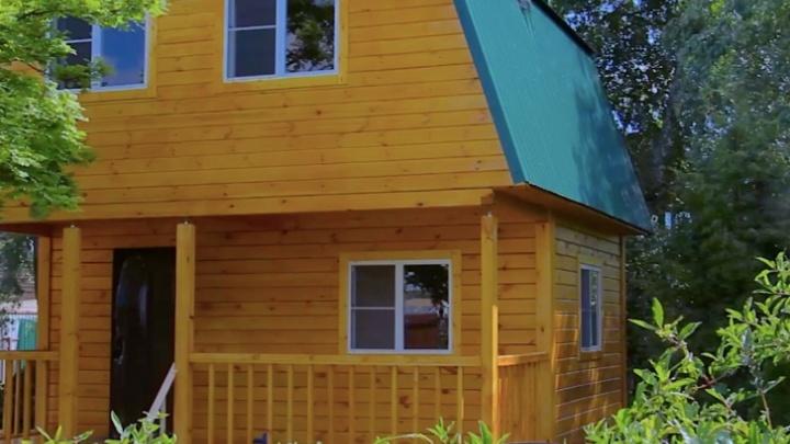 Деревянная дача для большой семьи за неделю: рассказываем, кто построит дом из бруса за 329 000 рублей