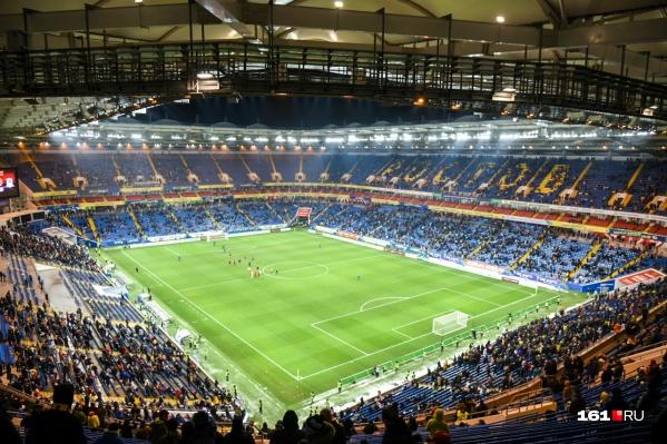 Теперь на стадионы могут пускать до 40% зрителей
