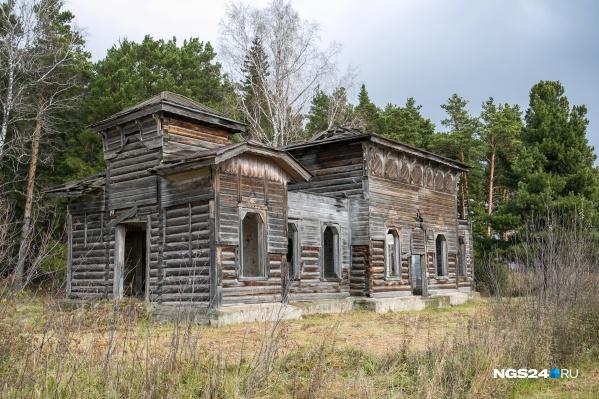 Здание находится в плачевном состоянии