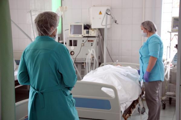 Больше всего заболевших в Омске