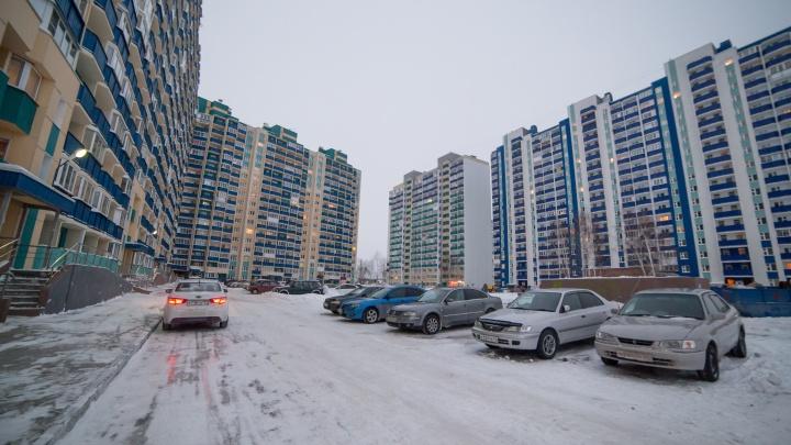 Более 300 домов остались без света в Первомайском районе Новосибирска